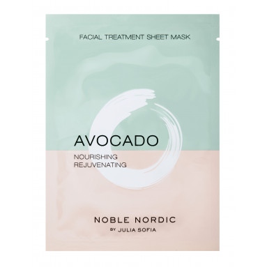 Avocado Facial Treatment Sheet Mask