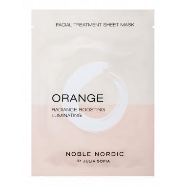 Orange Facial Treatment Sheet Mask