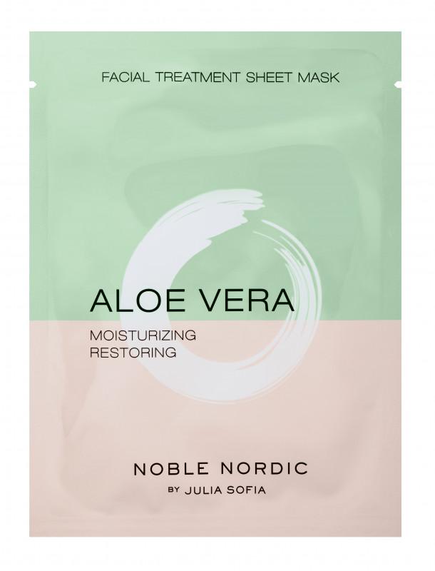 Aloe Vera Facial Treatment Sheet Mask