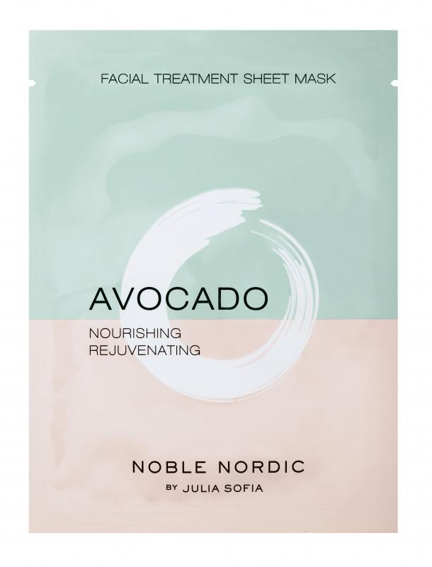 Avocado Facial Treatment Sheet Mask