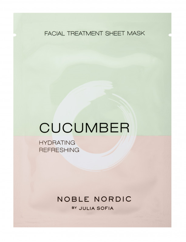 Cucumber Facial Treatment Sheet Mask