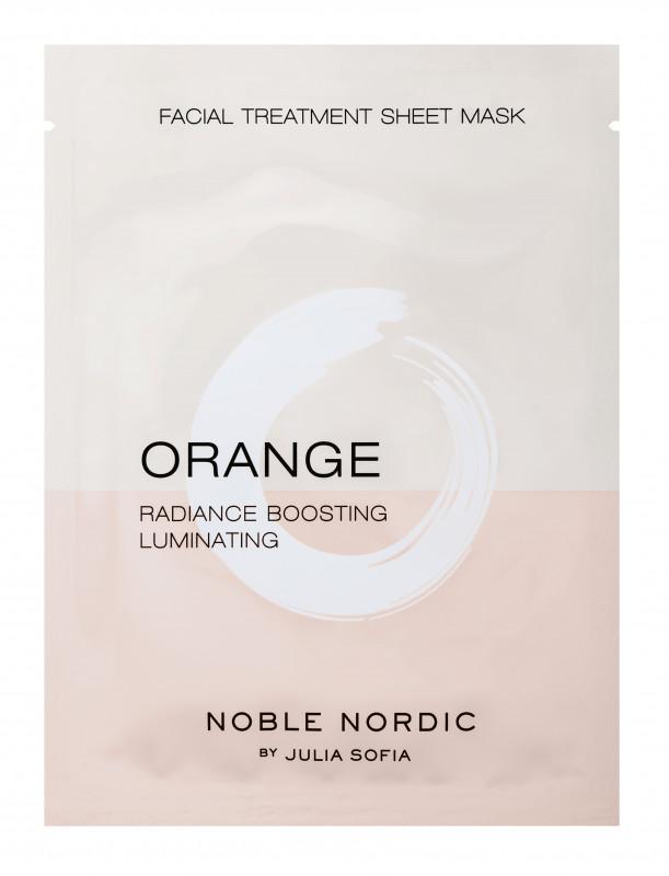 Orange Facial Treatment Sheet Mask