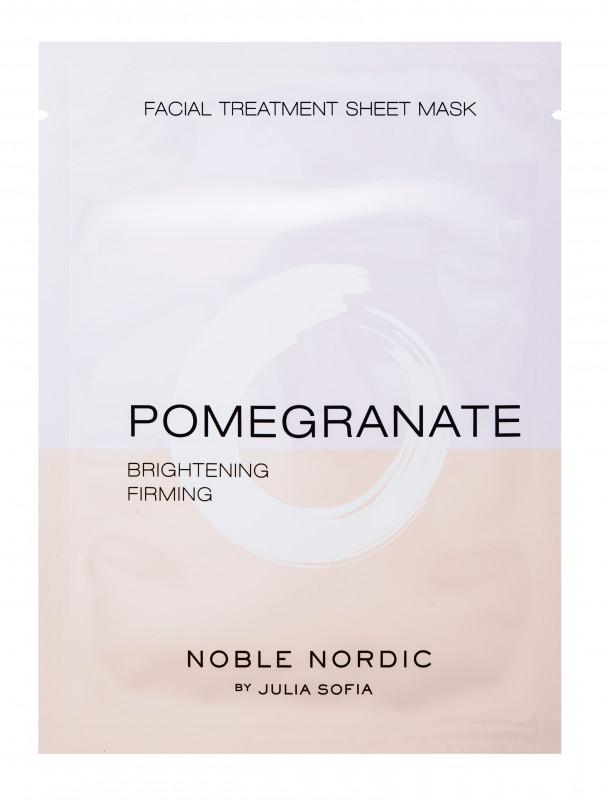 Pomegranate Facial Treatment Sheet Mask