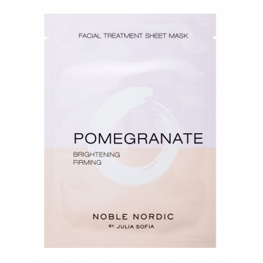 Pomegranate Facial Treatment Sheet Mask