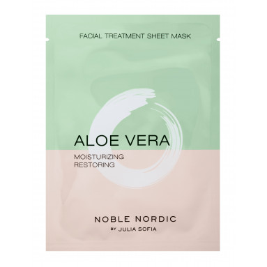 Aloe Vera Facial Treatment Sheet Mask