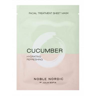 Cucumber Facial Treatment Sheet Mask