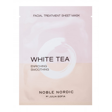 White Tea Facial Treatment Sheet Mask